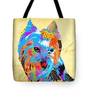 Love Is In The Dog's Eyes  Tote Bag