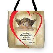 Love Is In The Heart Tote Bag