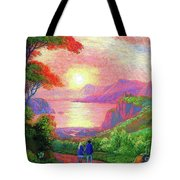 Love Is Sharing The Journey Tote Bag