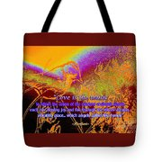Love Is The Music Tote Bag
