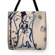 Love Is Waiting With Bells On Tote Bag