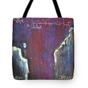 Love Like A Riot Tote Bag