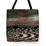 Love Lines Tote Bag