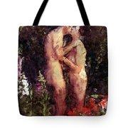 Love Me In The Garden Tote Bag