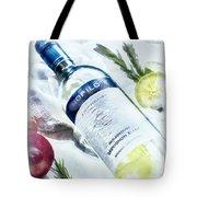 Love My Wine Tote Bag by Pennie  McCracken