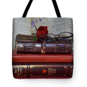 Love Of Books Tote Bag