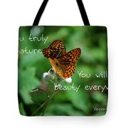 Love Of Nature Tote Bag