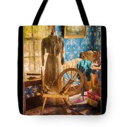 Love Of Sewing Poster Tote Bag