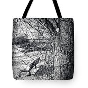 Love On A Tree Tote Bag by CJ Schmit