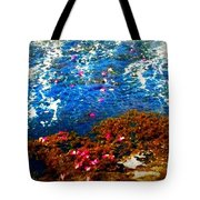 Love On A Wave Tote Bag