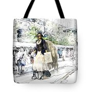 Love One Another - Steampunk Angel Tote Bag