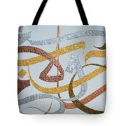 Love Peace And Hope Tote Bag
