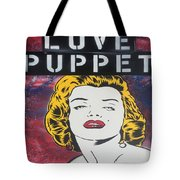Love Puppet Tote Bag