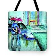 Love Rain Tote Bag