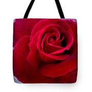 Love Red Rose Tote Bag