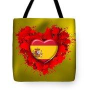 Love Spain Tote Bag