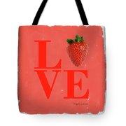 Love Strawberry Tote Bag