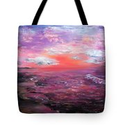 Love Sunsets And Dawns Tote Bag