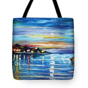 Love With The Sea Tote Bag