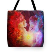 Love Written In The Stars Tote Bag