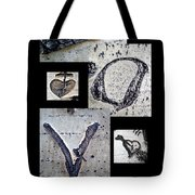 Love Written In The Trees 4 Tote Bag