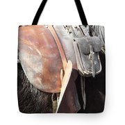 Loved Leather Tack Tote Bag