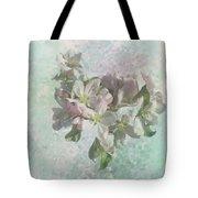 Lovely Apple Blossoms Tote Bag