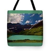 Lovely Cracker Lake Tote Bag