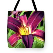 Lovely Day Lily Tote Bag