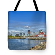 Lovely Day Long Beach Tote Bag