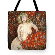 Lovely Flora Tote Bag