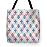 Lovely Geometric Pattern Vi Tote Bag