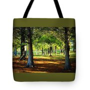 Lovely Grouping Of Trees In Mississippi Tote Bag