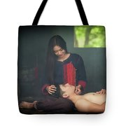 Lovely Happy Couple Have Fun.romantic Photo.hugs Together Tote Bag