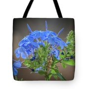 Lovely In Blue Tote Bag