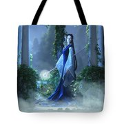 Lovely Is The Night Tote Bag by Melissa Krauss