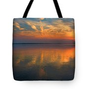 Lovely Lakeside View Tote Bag