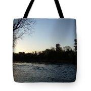 Lovely Light On Mississippi River Tote Bag