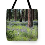 Lovely Lupine In The Mountains Tote Bag