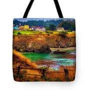Lovely Mendocino Tote Bag