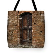 Lovely Old Door Tote Bag