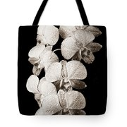 Lovely Orchid Cluster Tote Bag
