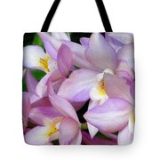 Lovely Orchid Family Tote Bag