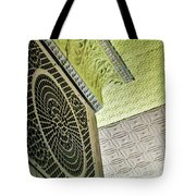 Lovely Patterns Of An Old School Interior Tote Bag
