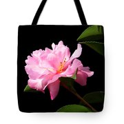 Lovely Pink Camelia Tote Bag