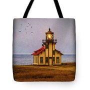 Lovely Point Cabrillo Light Station Tote Bag