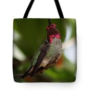 Lovely Ruby Red Tote Bag