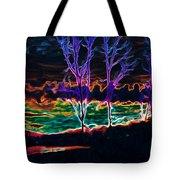 Lovely Sky Tote Bag by Savannah Fonner