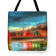 Lovely Trondheim Norway Tote Bag