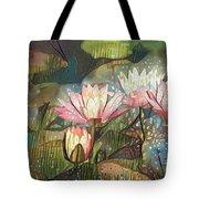 Lovely Waterlilies 7 Tote Bag